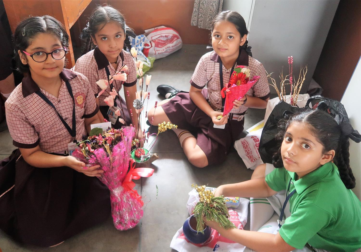 Dry Flower Making