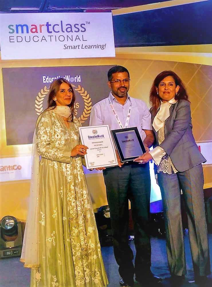 Education World- Rank 1 as Best Day School for girls in Jammu